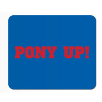 SMU Mustangs Mouse Pad