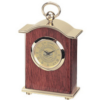 Temple Carriage Desk Clock