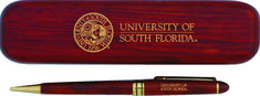 USF Bulls Pen with Rosewood Box