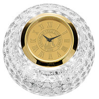 Gold Crystal Golf Ball Clock (Online Only)