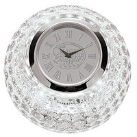 Silver Crystal Golf Ball Clock (Online Only)