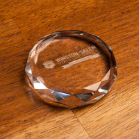 Slant Optic Anniversary Paperweight