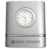 DePaul Two Tone Desk Clock