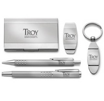 Troy University Five Piece Desk Set
