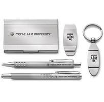 Texas A&M Aggies Five Piece Desk Set