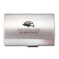 Southern Mississippi Eagles Pocket Size Business Card Holder