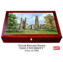Yale Bulldogs Large Desk Box