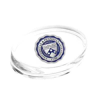 Penn Glass Paper Weight