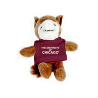 University of Chicago MCM Wild Bunch Plush Magnet