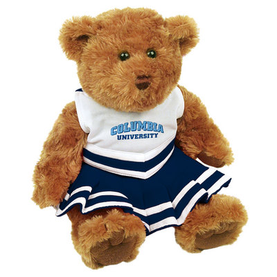 Columbia University MCM Cheerleader Bear