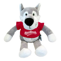 Wild Bunch Plush Wolf Mascot