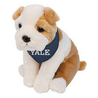 Yale Bulldogs Plush Bulldog