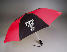 Texas Tech Red Raiders Automatic Folding Umbrella