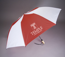 Temple Oversized Deluxe Folding Umbrella