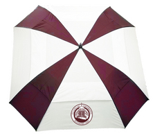 62 inch Square Vented Golf Umbrella