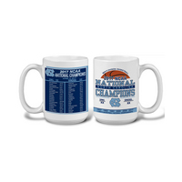 NCAA Mens Basketball National Champions 15oz Ceramic Mug