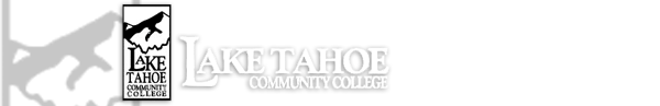Lake Tahoe Community College Logo