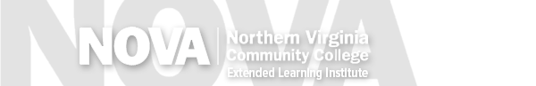 Northern Virginia Community College - Extended Learning Logo