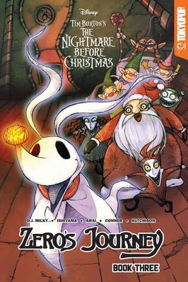 Disney Manga Tim Burtons The Nightmare Before Christmas