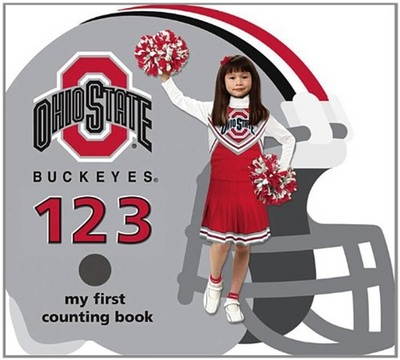 Ohio State Buckeyes 123 My First Counting Book