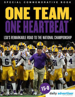 LSU Tigers 2020 National College Football Champions