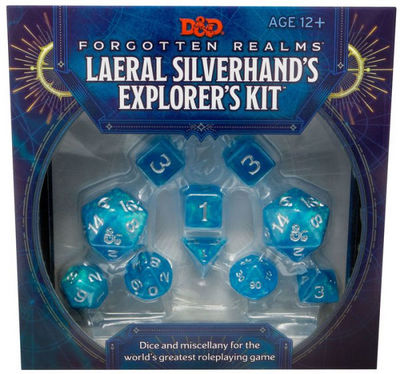 D&D Forgotten Realms Laeral Silverhands Explorers Kit (D&D Tabletop Roleplaying Game Accessory)
