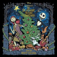 The Nightmare Before Christmas Advent Calendar and PopUp Book