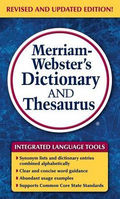 Merriam Websters Dictionary and Thesaurus
