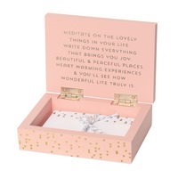 C.R. Gibson Lovelies Pink Trinket Box Set