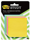 Postit Super Sticky Full Adhesive Notes 3 x 3 Rio de Janeiro Collection, 4 PadsPack