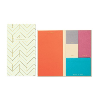 C.R. Gibson Sticky Note Book Set