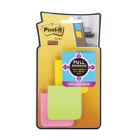 3M Postit 2 x 2 Super Sticky Full Adhesive Notes, Rio de Janeiro Collection, 8 padspack