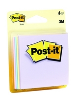 PostIt Notes 3 in x 3 in Marseille Collection 4 PadsPack