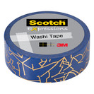 WASHI TAPE GD CNSTL FOIL .59IN x 275