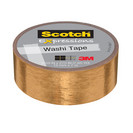WASHI TAPE GOLD FOIL .59IN x 275