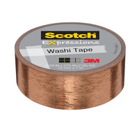 WASHI TAPE COPPER FOIL .59IN X 275