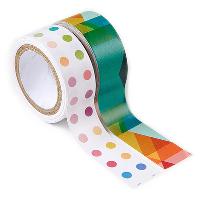 Erin Condren Candy Dots & Triangles Washi Tape Duo  2 Rolls