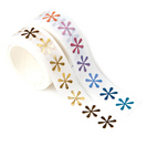 Erin Condren Metallic Asterisks Washi Tape Duo  2 Rolls