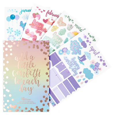 Erin Condren Monthly Sticker Book  Edition 5