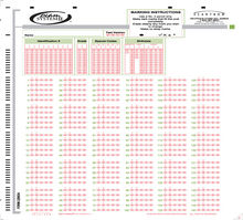 Scantron Form 229634