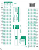Scantron Form 884  E