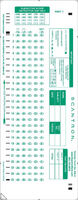 Scantron Form 889  E