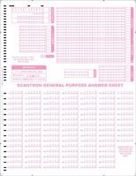 Scantron Form F 262  L