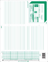 Scantron Form 886  E