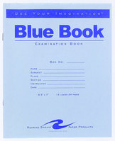 Blue Examamination Book8.5X7 24 Page