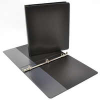 .5 inch Navy Polypropylene Binder, 8.5x11, Angle D ring