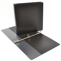 1PP Angle D Ring Binder Black