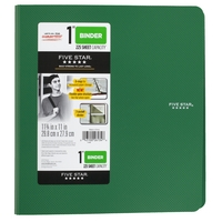 Five Star 1 Plastic Binder, 225 Sheet Capacity