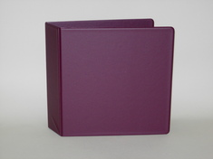 2 NONVIEW Binder, Navy Poly, Angle DRing, 11 x 8 12