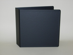 Four Point 2 inch Vinyl Binder, Angle D Ring